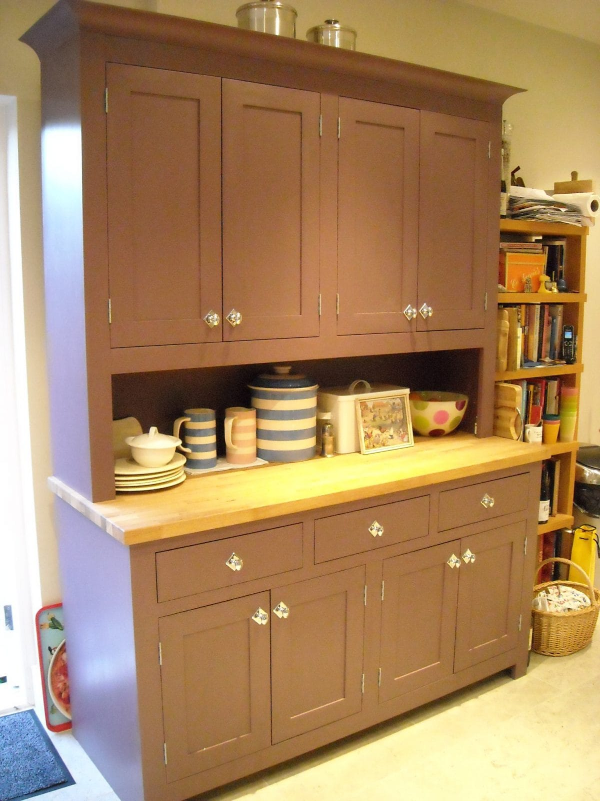 Wimbledon London Painted Shaker Kitchen Higham Furniture