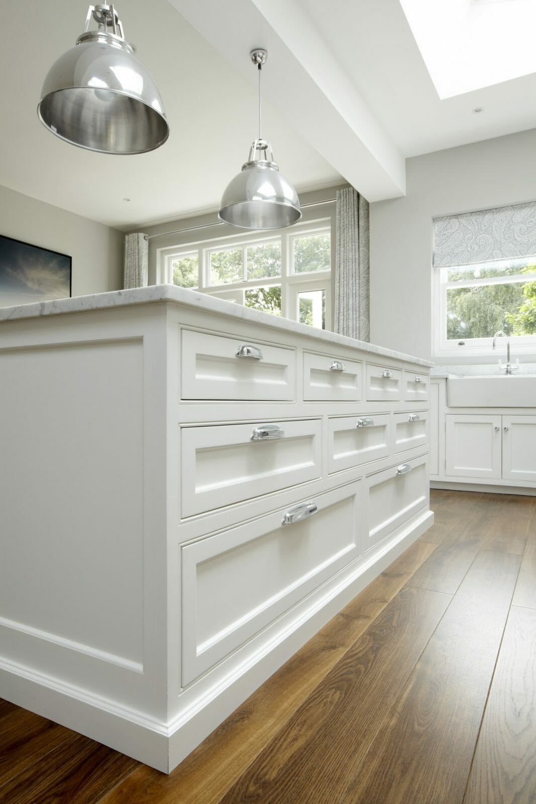 Small Traditional Kitchens Hampton American...