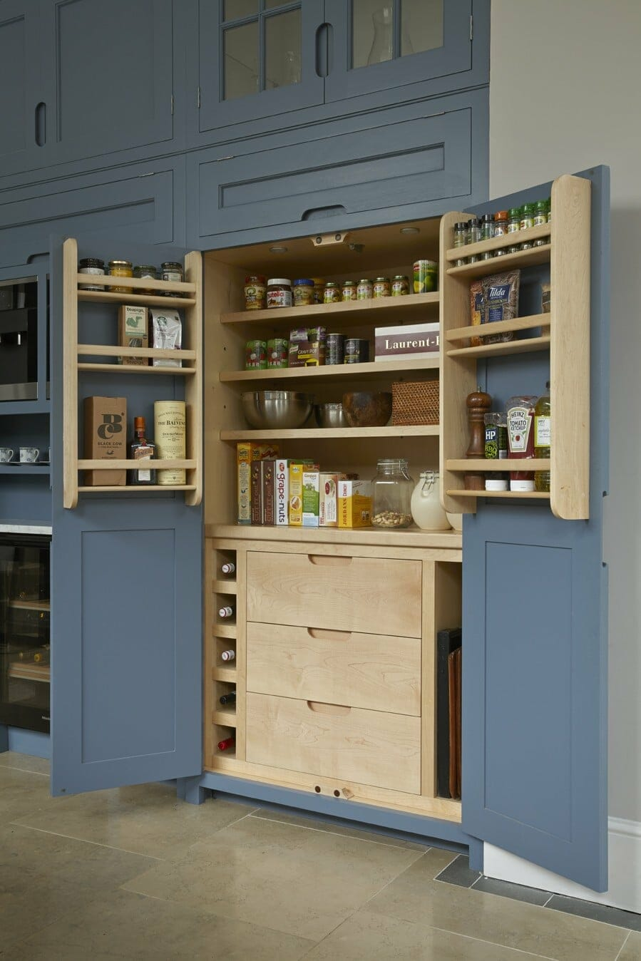 Hermitage larder higham furniture Pantry 800mm