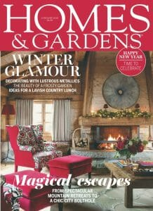Cover Homes and Gardens January 2018