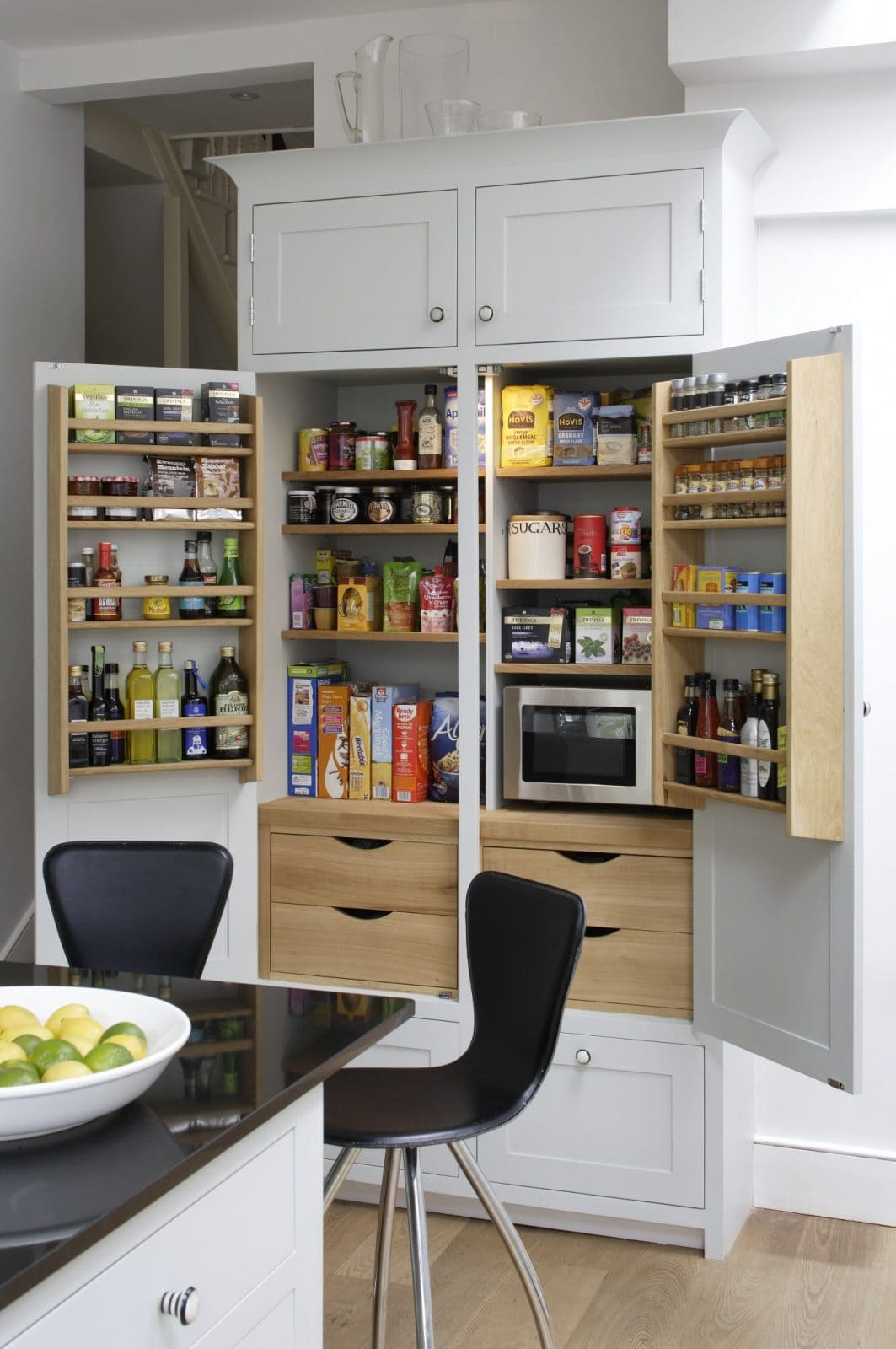 storage ideas for kitchen cupboards brackenbury larder higham furniture 8373
