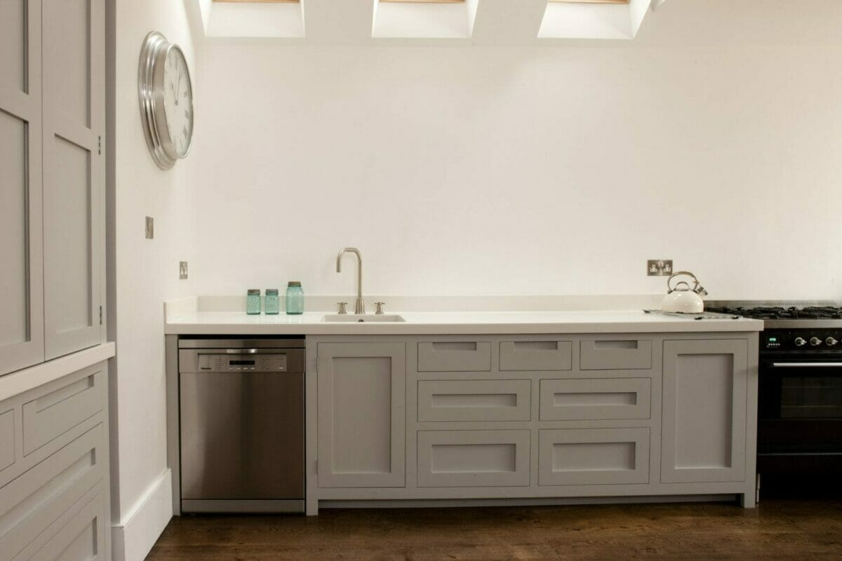 Southfields Handleless Shaker Kitchen