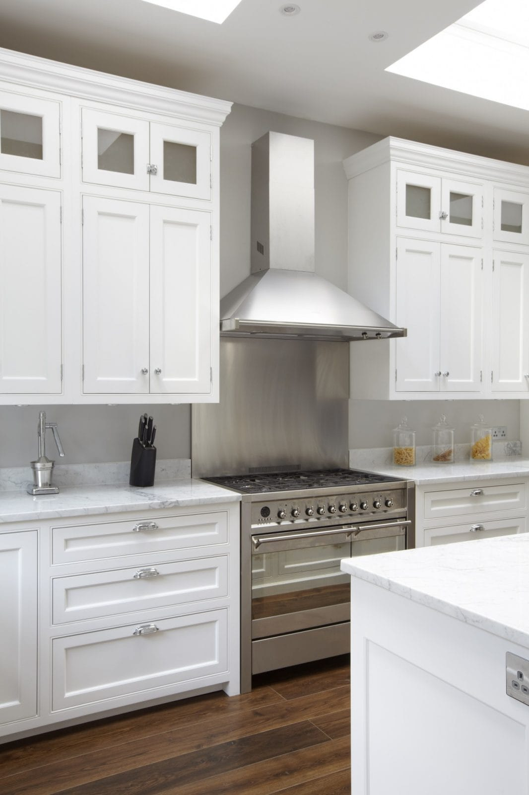 White Kitchen Island Lighting