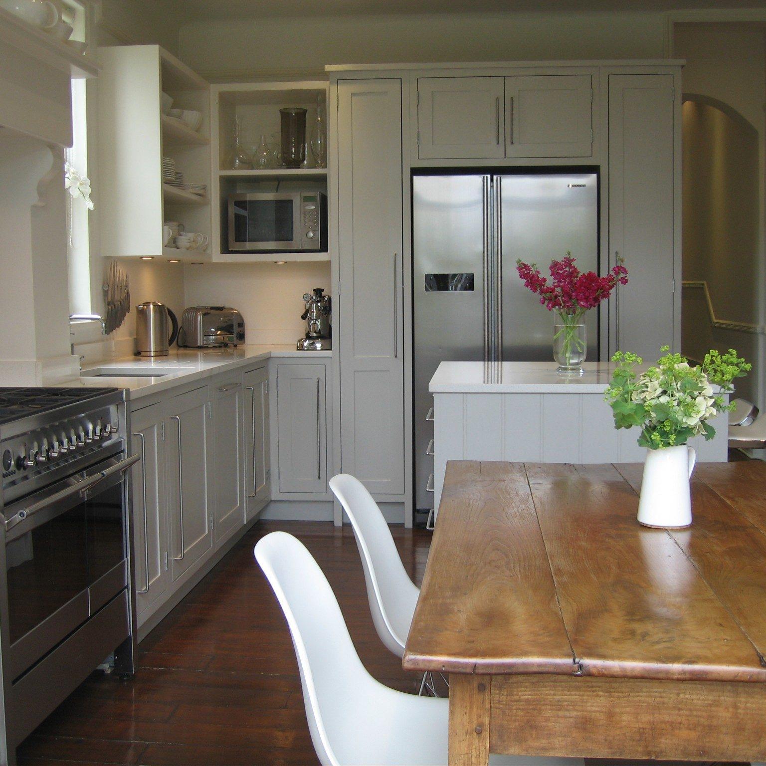 Clapham Shaker Kitchen: Handmade Kitchen Denmead In Hampshire