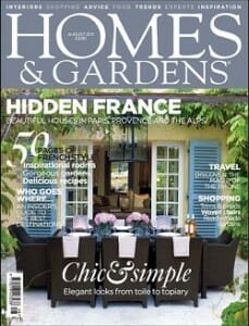 Homes and Gardens Aug 2011