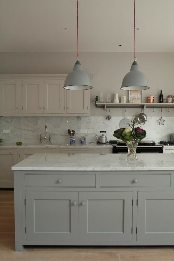 Images Of Kitchens With White Shaker Cabinets And Green Island