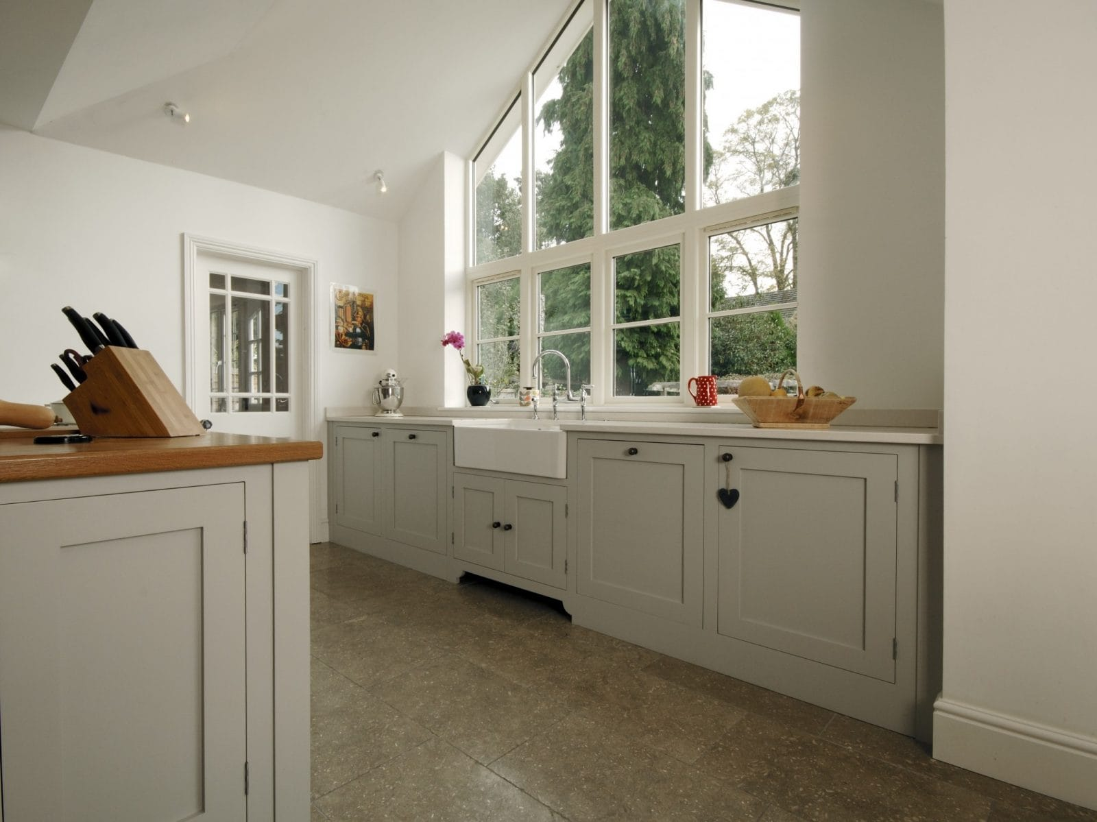 Fleet Painted Shaker Kitchen Higham Furniture