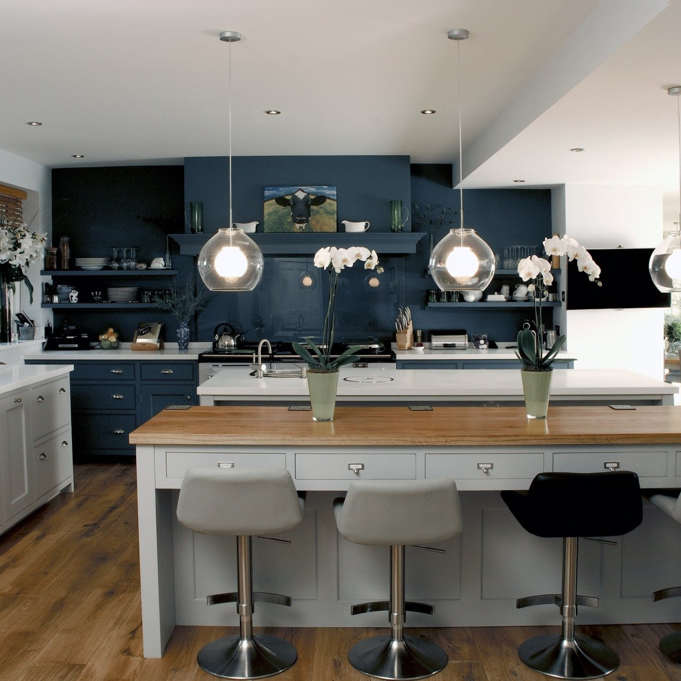 Clapham Shaker Kitchen: Hampton American Style Kitchen