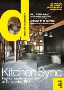 Designer Kitchen and Bathrooms April 2016 Cover