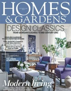 Homes and Gardens Oct 2016 Cover