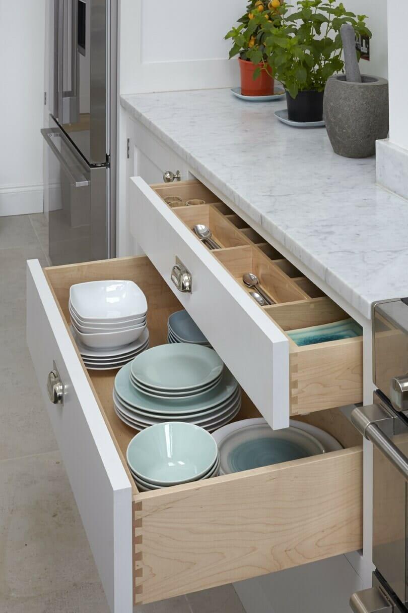 Hampton Painted Shaker Kitchen Higham Furniture