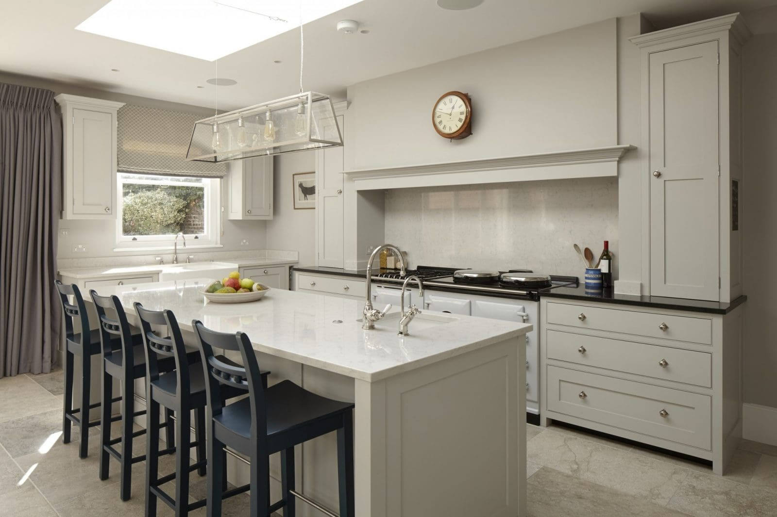 white kitchen cabinets uk wandsworth traditional kitchen higham furniture 28957