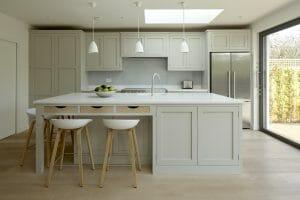 Claygate Handleless Shaker Kitchen Whole Kitchen