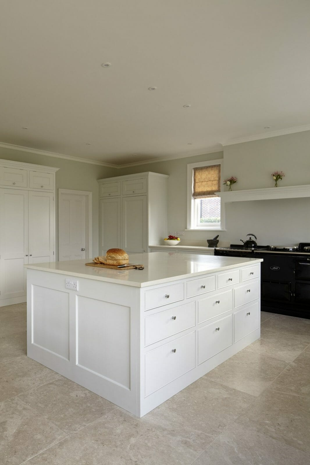 Rowlands Castle Traditional Painted Kitchen Higham