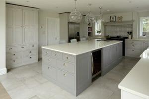 Ware Hertfordshire Over Island Sink
