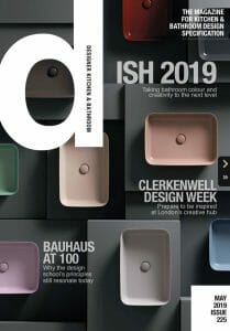 Designer Kitchen and Bathroom Magazine - May 2019