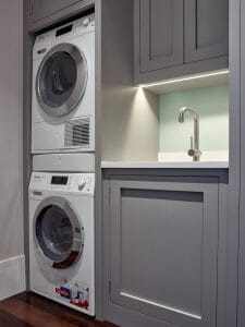 Miele Washer Dryer Stack